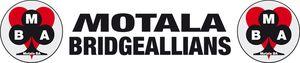 Logga förMotala Bridgeallians