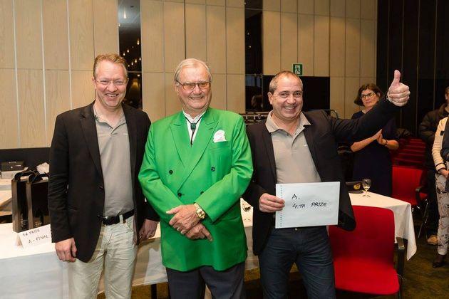 4:a... Imp pairs, Peter Fredin, HKH Prinsen av Danmark och Stig Meno Farholt. Foto: DBF