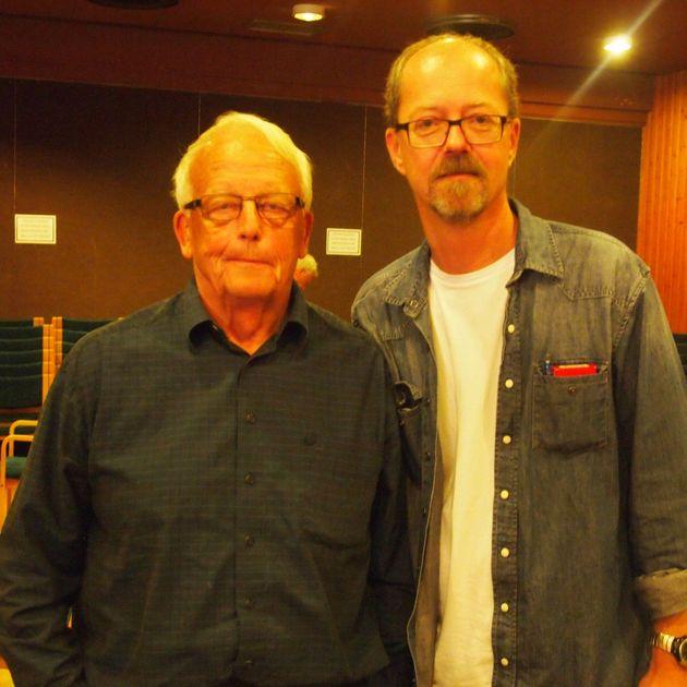 Rolf Westman och Mats Johansson
