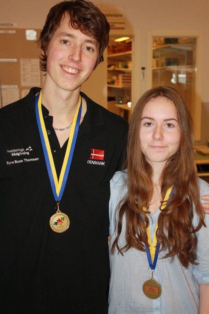 3:a Simon Ekenberg och Sanna Clementsson