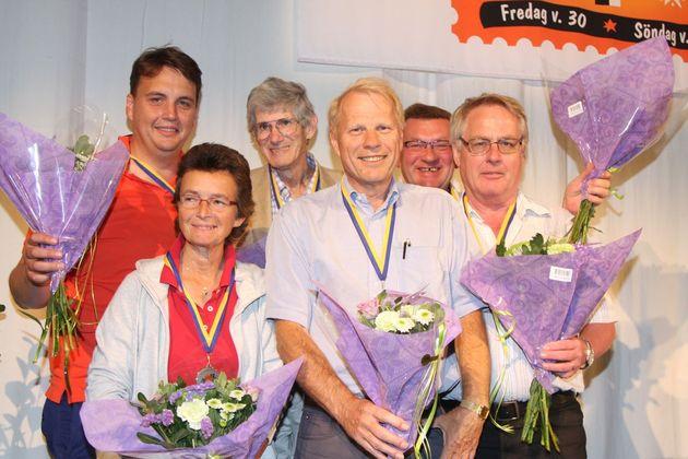 2:a ... Solodar - Tobias Törnqvist, Pia Andersson, John Solodar, Håkan Nilsson, Arne Larsson, Jim Nielsen
