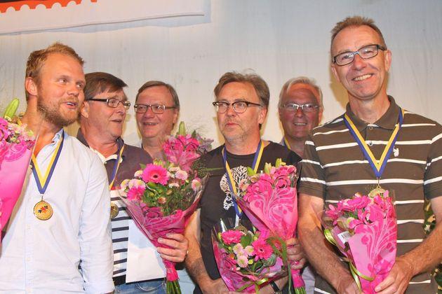 3:a ... Zmrzlina - Daniel Eriksson, Sune Fager, Anders Blomé, Ulf Nohrén, Rune Pettersson, Rolf Scherdin
