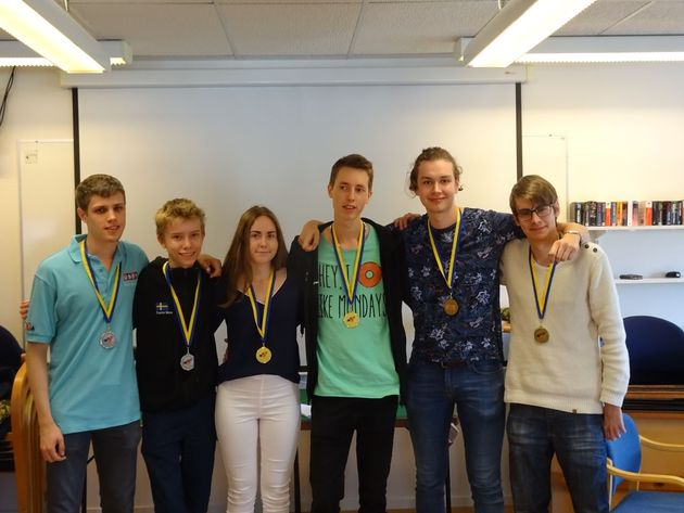 Dagens medaljörer i JSM 2016