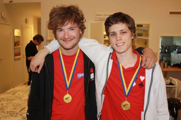 1:a Ola Rimstedt och Daniel Gullberg