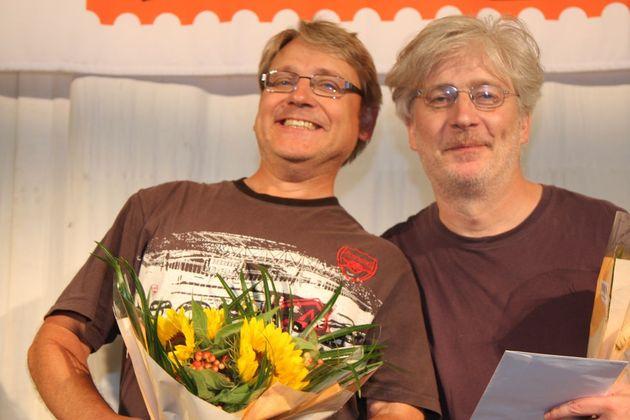 Guldgruvan: 1:a Krister Ahlesved och Johan Sylvan, Uppsalabridgen/Näsby BS