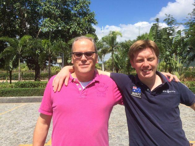 Fredric Wrang och Johan Upmark