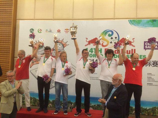 Vinnarna av Rosenblum Cup 2014
