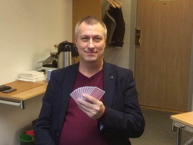 2014 års vinnarkapten, Mikael Westerlund
