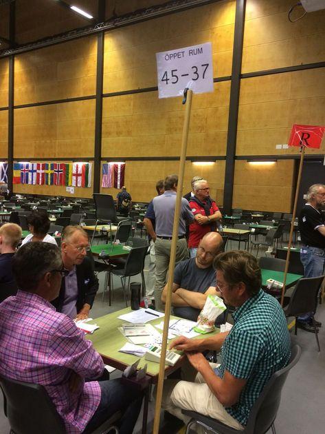Lagtävling verkar inte vara vår grej... Foto: Niclas Örnerdal