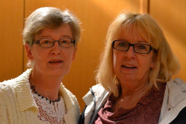Pia Olofsson  och Agneta Svahn