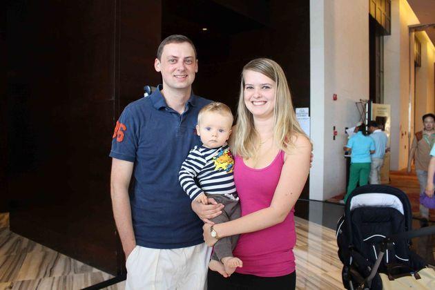 Familjen Rimstedt; Patrik, William och Cecilia