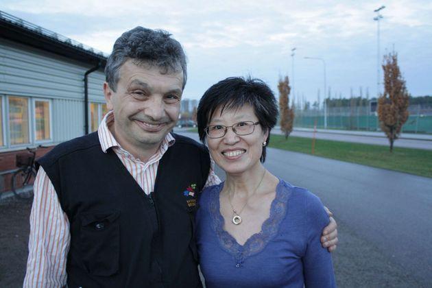 Tävlingsledare, Ryszard Sliwinski och Ping Huang