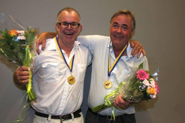 SM Par Veteran: 1:a ... Tommy Svensson och Leif Andréasson, Kungshamns BK