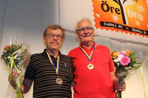 2:a ... Jan Nilsson, Höörs BK  och Lars-Åke Nilsson,  Hässleholms BK