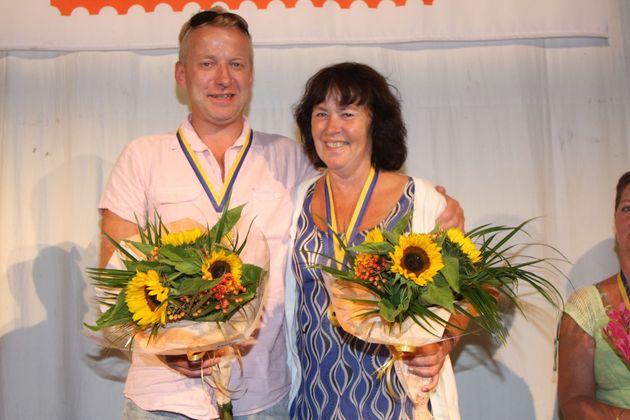 SM Par Mixed: 1:a... Tore Stormo och Ylva Strandberg, Arla BK