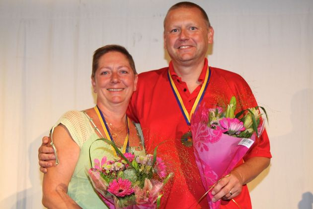 3:a ... Mari och Mikael Lindblom, BK S:t Erik