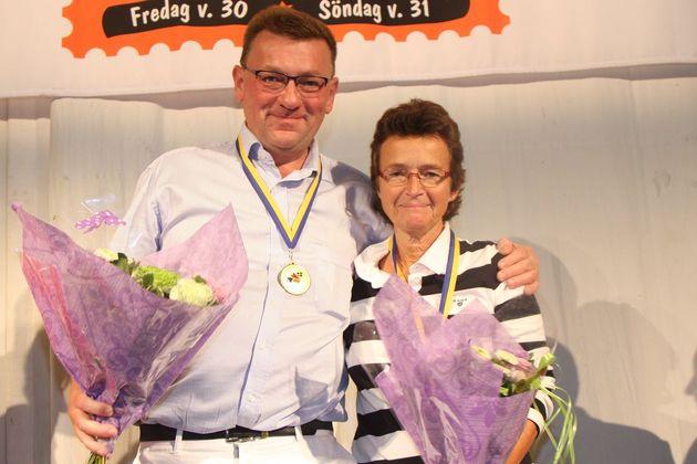 SM Par Open: 1:a ... Arne Larsson och Pia Andersson, BK Everfresh