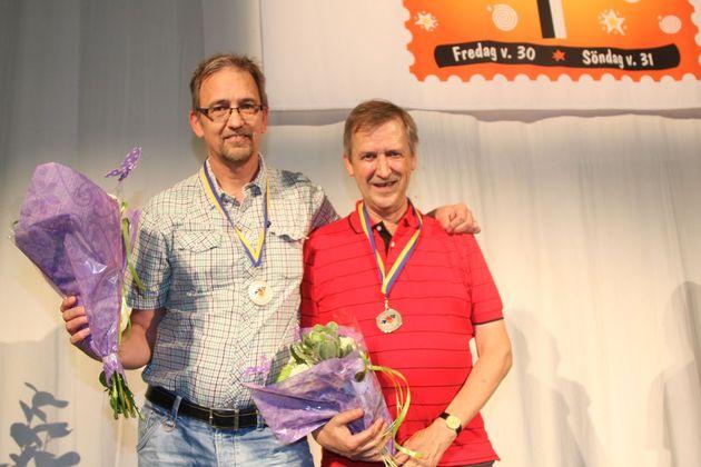 2:a ... Gunnar Elmroth och Leif Trapp, Storsjöbygdens BK