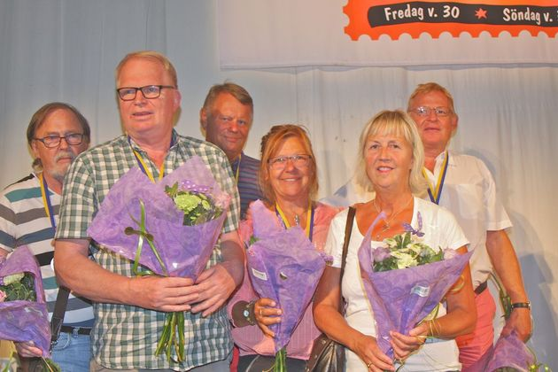 2:a ... Appaloosan - Sven-Olov Flodqvist, Gunnar Hallberg,  Rolf Bengtsson, Pyttsi Flodqvist, Yvonne Elg , Mats Pettersson