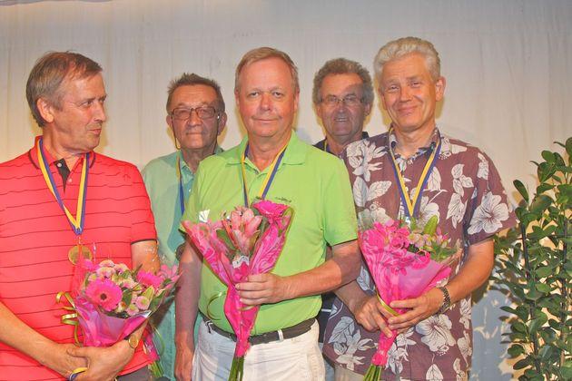 3:a ... Axne - Leif Trapp, Gunnar Andersson, PG Eliasson, Börje Dahlberg, Lars Ramquist