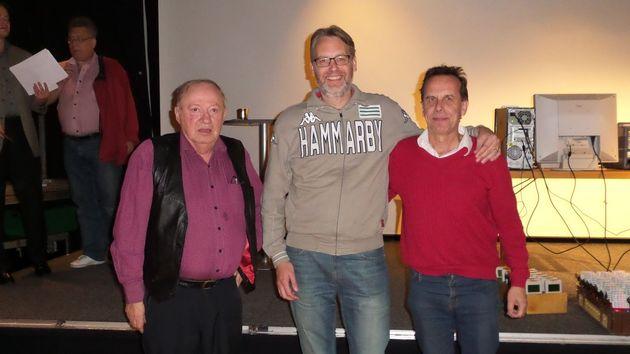 Topp tre Totalt: Leif Linder (2), Johan Nilsson (1), Ulf Westlin (3)