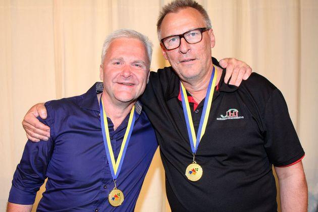 Guld: Jöns Johansson och Kjell Carlsson