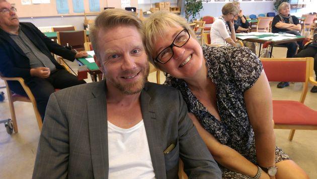 Ledamöterna Rickard och Lena fick förlängt förtroende