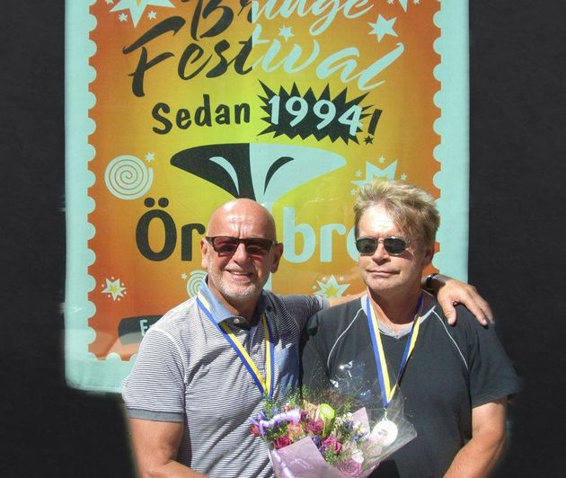 Inge och Tomas - silver i Nybörjar-SM