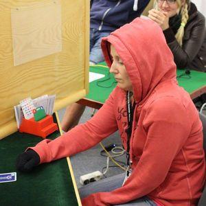 Jessica Larsson har packat bra! Foto:EBL