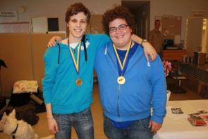 2013 års vinnare Daniel Gullberg och Simon Hult