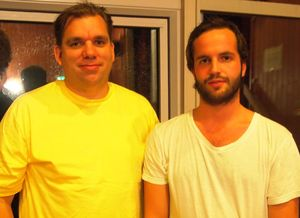 Peter Bertheau och Adam Stokka