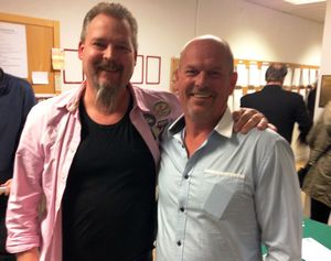1:a Tommy Gunnarsson och Michael Lemborn