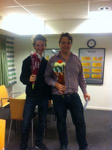 Vinnare av Kamras Minne: Mikael Rimstedt och Tobias Törnqvist