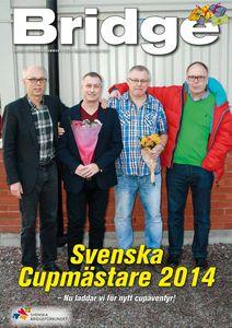 Tidningen Bridge nr 5 2014