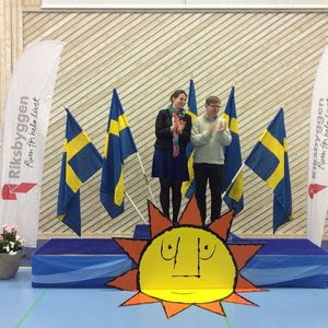 1:a ... Linnea Edlund - Tobias Edlund