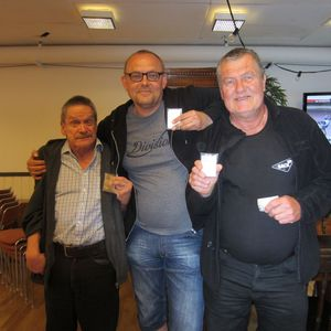 Göran Pettersson, Thomas Björkstrand och Roger Andersson.