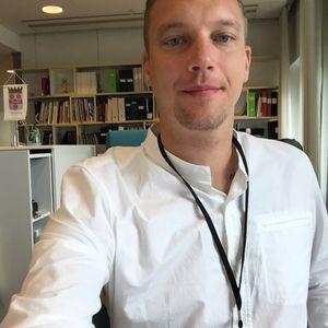 Måns Berg - vann pris för bästa försvar!
