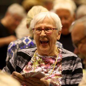 Maj-Britt Larsson 95 år