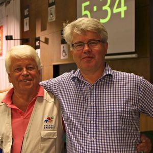 TL Thomas Winther och veckans silverlirare Björn Ohlsson
