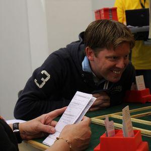 En glad och taggad Johan Upmark