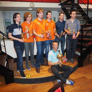 Vinnarna i White House Junior Internationals - Nederländerna Vit