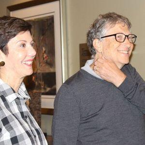 Jill Meyers och Bill Gates (!) spelade för BBO