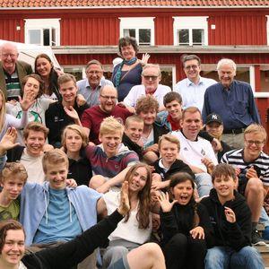 Alla deltagare på lägret