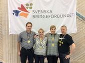 1:a ... ANNA ... Dan Bylund, Helena Strömberg, Anna Zack Efraimsson, Bengt-Erik Efraimsson