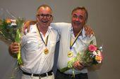 1:a ... Tommy Svensson och Leif Andréasson, Kungshamns BK